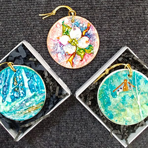 Porcelain Ornaments